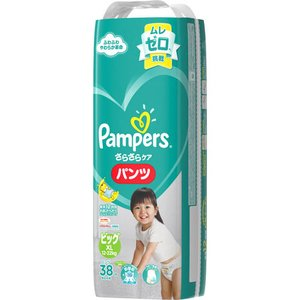 P&G パンパース さらさらケア パンツ ビッグサイズ 38枚 【日用消耗品】|yamada-denki