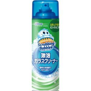 ジョンソン スクラビングバブル 激泡ガラスクリーナー クルー 480ml 【日用消耗品】|yamada-denki