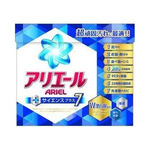 P&G アリエール サイエンスプラス7 粉末 900g 【日用消耗品】|yamada-denki