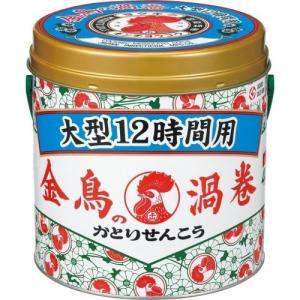 大日本除虫菊 金鳥の渦巻 大型 12時間用 缶 40巻 yamada-denki