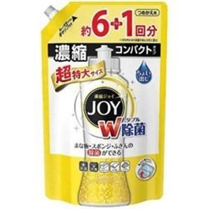 P&G 除菌ジョイ コンパクト スパークリングレモンの香り 超特大 つめかえ用 1065ml|yamada-denki