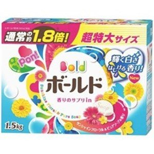 P&G ボールド 香りのサプリイン粉末 詰替 1.5kg yamada-denki