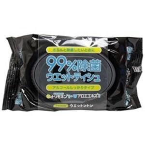 ネピア ウエットントン 99%除菌ウエットティシュ アルコールしっかりタイプ 無香料 50枚入り yamada-denki