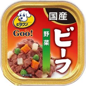 日本ペットフード ビタワンGOO 成犬用 ビーフ&野菜 100g|yamada-denki