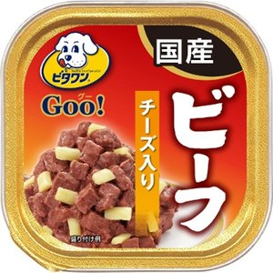 日本ペットフード ビタワンGOO 成犬用 ビーフ&チーズ 100g|yamada-denki