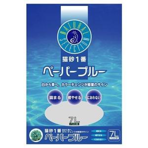 クニミネマーケティング 猫砂1番ペーパーブルー 7L yamada-denki