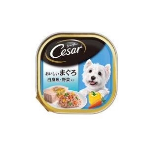 マースジャパンリミテッド CE71N シーザー おいしいまぐろ 白身魚・野菜入り 100g<b...