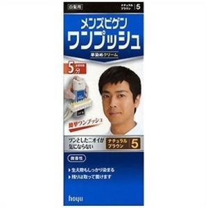 hoyu メンズビゲン ワンプッシュ 5 (ナチュラルブラウン)|yamada-denki