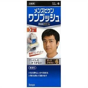 hoyu メンズビゲン ワンプッシュ 6 (ダークブラウン)|yamada-denki
