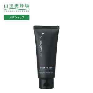 山田養蜂場 Mr. PROPOLIS ディープウォッシュ 100g ミスタープロポリス メンズ スキ...