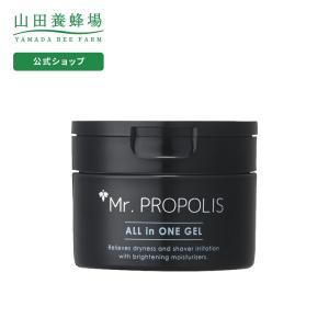 山田養蜂場 Mr.PROPOLIS オールインワンジェル 80g ミスタープロポリス メンズスキンケ...