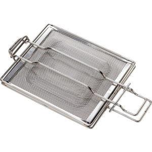 ホットサンドメーカー/キッチン家電 〔オーブントースター・グリル用〕 IH対応 2段階厚み調節可 日本製の画像