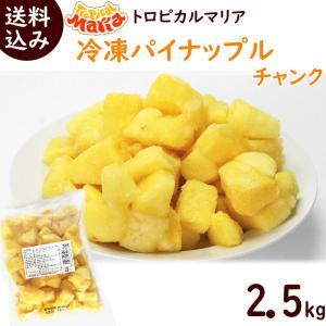 トロピカルマリア 冷凍パイナップルチャンク 500g×5袋|yamagata-kikou