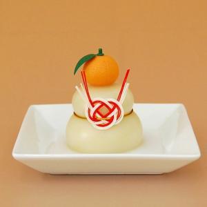 日本のお正月 鏡餅160g 橙付き[上下一体型]|yamagata-umaies|02