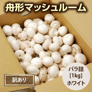 【訳あり】舟形マッシュルーム[バラ詰1kg]箱入|yamagata-umaies