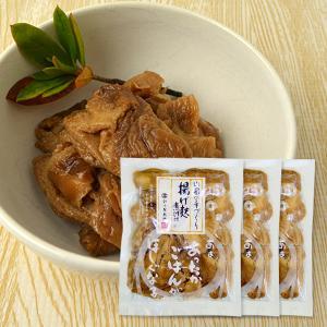 山形の揚げ麩煮付け[180g×3袋]|yamagata-umaies
