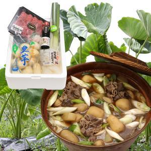 【送料無料】山形名物芋煮セット(2〜3人前)|yamagata-umaies