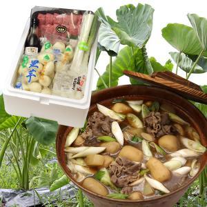 【送料無料】山形名物芋煮セット(4〜5人前)|yamagata-umaies
