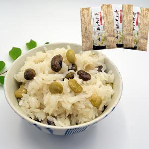 山形のだだちゃ豆ごはんの素(80g×3袋入り)[箱入]|yamagata-umaies
