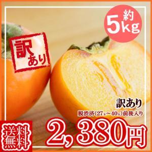 予約(送料無料)山形産庄内柿(しょうないがき)訳あり約5kg11月上旬頃より順次発送開始予定!