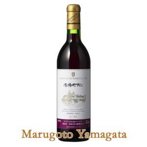 朝日町ワイン 赤 (辛口) 720ml<BR>贈り物 山形のワイン プレゼント|yamagatamaru