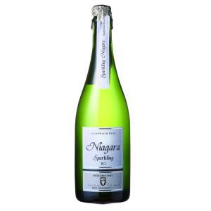 朝日町ワイン スパークリングナイアガラ白甘口 山形 750ml ワイン|yamagatamaru