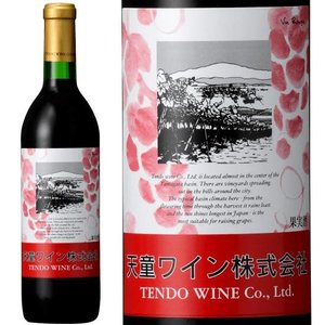 父の日 ギフト プレゼント 天童ワイン 赤 辛口 720ml ワイン プレゼント|yamagatamaru