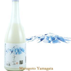 子宝リキュール 鳥海山麓ヨーグルト 720ml|yamagatamaru