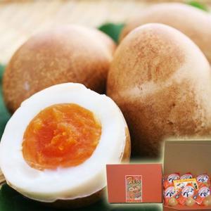 半熟くんせい卵 スモッち 6個入り 贈答用化粧箱入 クール便 天童市 半澤鶏卵 贈り物に|yamagatamaru