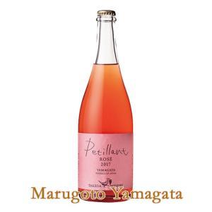 タケダワイナリー ペティアン(微発砲)ロゼ 750ml 山形のワイン|yamagatamaru
