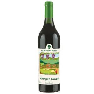 赤ワイン ウッディーファーム ワイナリー  ミッシェル ルージュ 750ml yamagatamaru
