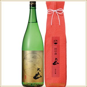 大山 純米吟醸 封印酒 1800ml 加藤嘉八郎酒造 山形の日本酒|yamagatamaru