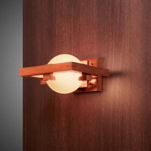 ブラケット照明|フランクロイドライト 「ROBIE 1 MINI」 要電気工事|yamagiwa