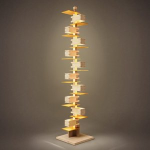 ( 生誕150周年 特別記念モデル )フランク・ロイド・ライト「TALIESIN-J(会津桐+金箔)」橋本夕紀夫モデル(受注品)|yamagiwa