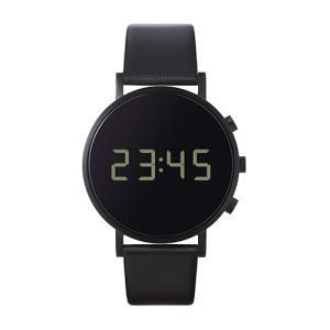 増税前に使える1,000円OFFクーポン|normal(ノーマル)腕時計 tokiji(トキジ)O38ブラックケース×ブラックレザー|yamagiwa