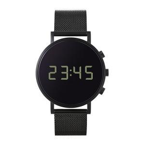 増税前に使える1,000円OFFクーポン|normal(ノーマル)腕時計 tokiji(トキジ)O38ブラックケース×ブラックメッシュ|yamagiwa