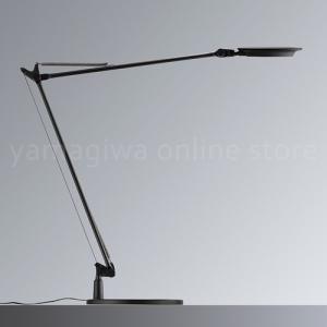 LEDデスクライト|yamagiwa(ヤマギワ) 「Rebio(レビオ)」  ベースセット/ブラック|yamagiwa