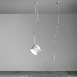 【簡単エントリーで最大14倍! 4/22 23:59まで】照明 おしゃれ ペンダント|FLOSフロス AIM(エイム)ホワイト(要電気工事)|yamagiwa