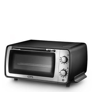 デロンギ「オーブン&トースター EOI407J-BK」 エレガンスブラック|yamagiwa