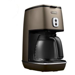 プレミアム会員限定!ポイント最大32倍|デロンギ ドリップコーヒーメーカー ICMI011J-CP フューチャーブロンズ|yamagiwa