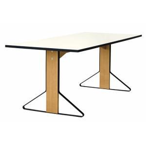 アルテック テーブル|artek カアリ・テーブル W200cm ナチュラルオーク/ホワイトグロッシー(取寄品)|yamagiwa