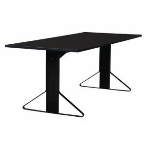 アルテック テーブル artek カアリ・テーブル W200cm ブラックステインオーク/ブラックグロッシー(取寄品) yamagiwa