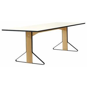 アルテック テーブル artek カアリ・テーブル W240cm ナチュラルオーク/ホワイトグロッシー(取寄品) yamagiwa