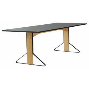 アルテック テーブル artek カアリ・テーブル W240cm ナチュラルオーク/ライトグレーリノリウム(取寄品) yamagiwa
