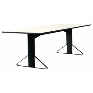 アルテック テーブル artek カアリ・テーブル W240cm ブラックステインオーク/ホワイトグロッシー(取寄品) yamagiwa