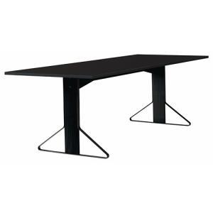 アルテック テーブル artek カアリ・テーブル W240cm ブラックステインオーク/ブラックグロッシー(取寄品) yamagiwa
