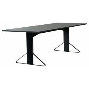 アルテック テーブル artek カアリ・テーブル W240cm ブラックステインオーク/ライトグレーリノリウム(取寄品) yamagiwa