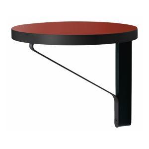 アルテック 家具|artekアルテック カアリ・シェルフ ブラックステインオーク/レッドリノリウム(取寄品)|yamagiwa