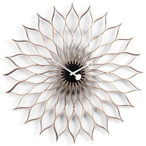 プレミアム会員限定!ポイント最大27倍|置時計|Vitraヴィトラ Sunflower Clock サンフラワー クロック/バーチ|yamagiwa
