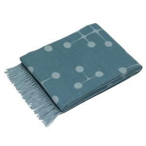 【受注品】Vitra(ヴィトラ)「Eames Wool Blanket」ライトブルー|yamagiwa